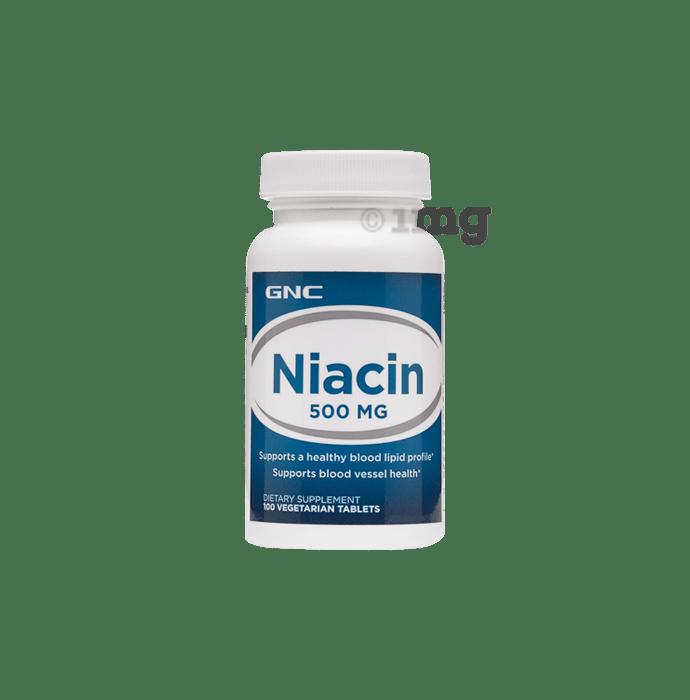 GNC Niacin 500mg Tablet