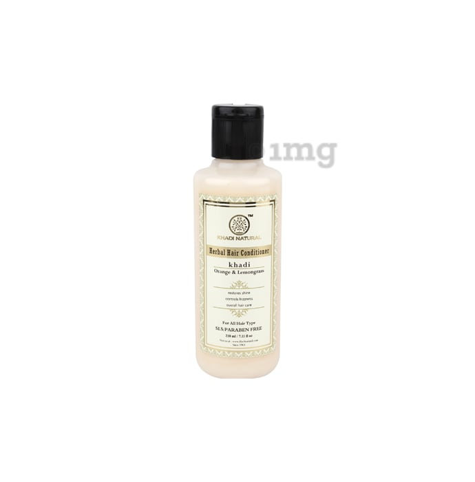 Khadi Naturals Herbal Orange & Lemongrass Hair Conditioner