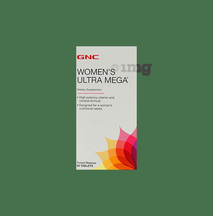 GNC Women's Ultra Mega Timed Released Dietary Supplement Tablet