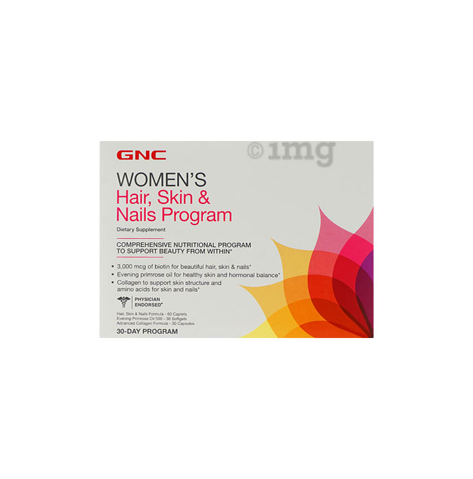 GNC Women's Hair Skin and Nail 30 Day Program