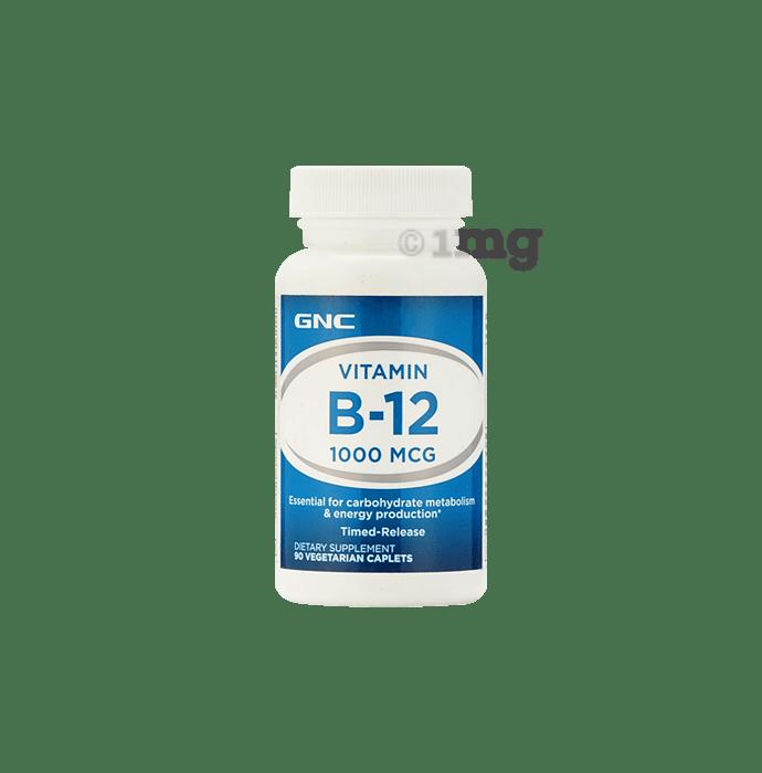 GNC Vitamin B-12 1000mcg Caplet