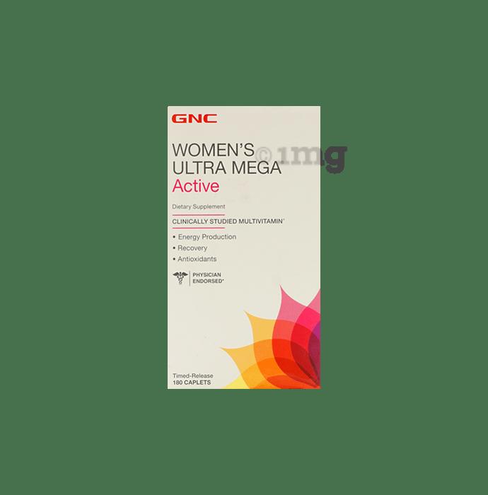 GNC Women's Ultra Mega Active Multivitamin Caplet