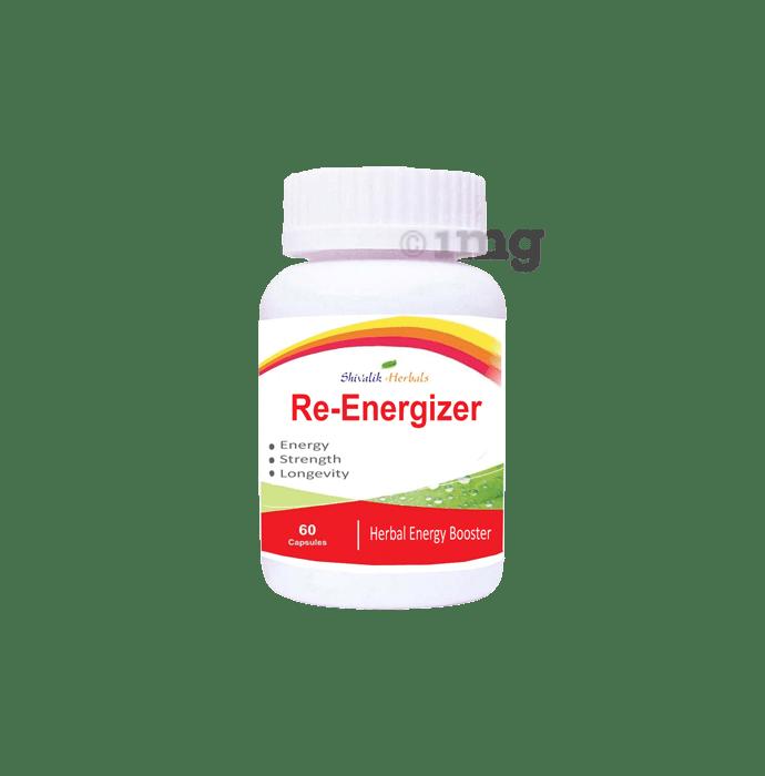 Shivalik Herbals Re-Energizer 500mg Capsule