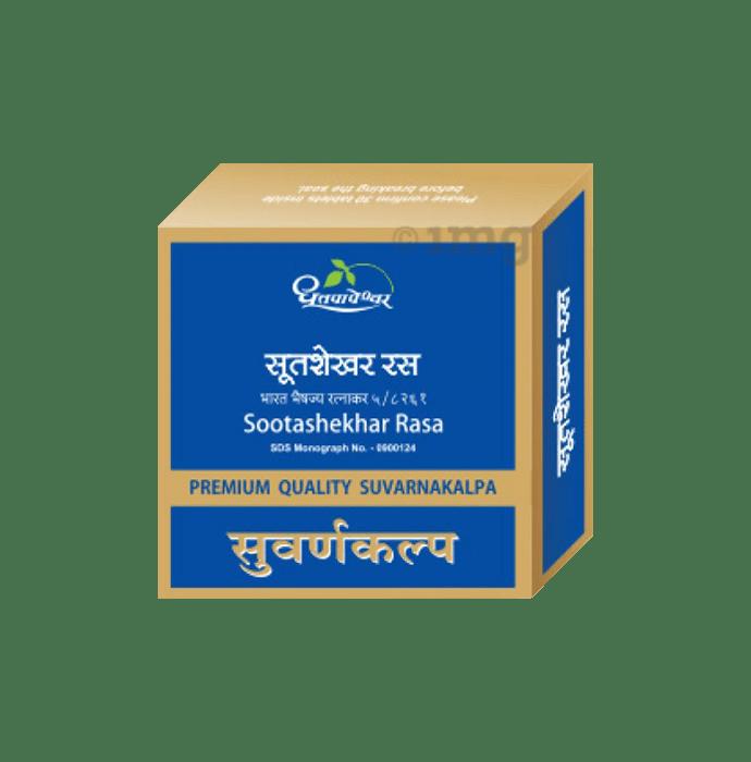 Dhootapapeshwar  Sootashekhar Rasa Premium Quality Suvarnakalpa