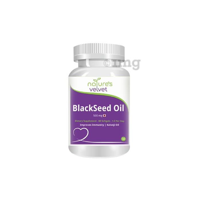 Nature's Velvet Blackseed Oil 500mg Capsule
