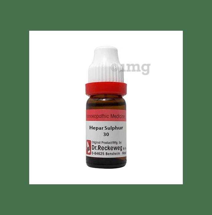 Dr. Reckeweg Hepar Sulphur Dilution 30 CH