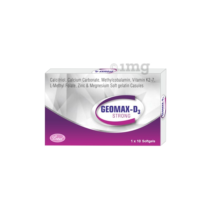 Geomax D3 Strong Softgels