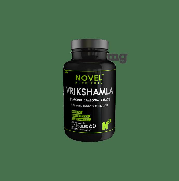 Novel Nutrients Vrikshamla (Garcinia) 500mg Capsule