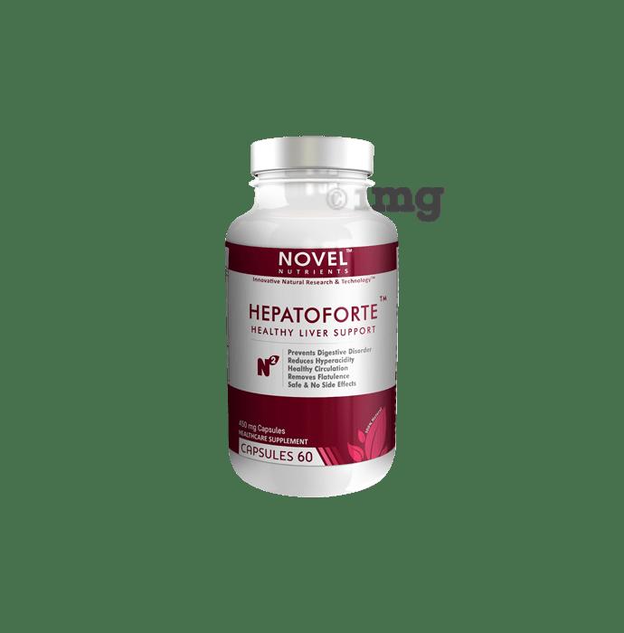 Novel Nutrients Hepatoforte 450mg Capsule
