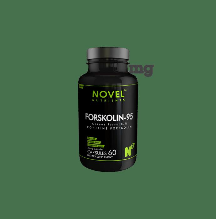 Novel Nutrients Forskolin-95 25mg Capsule