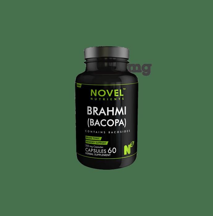 Novel Nutrients Brahmi (Bacopa) 300 mg Capsule