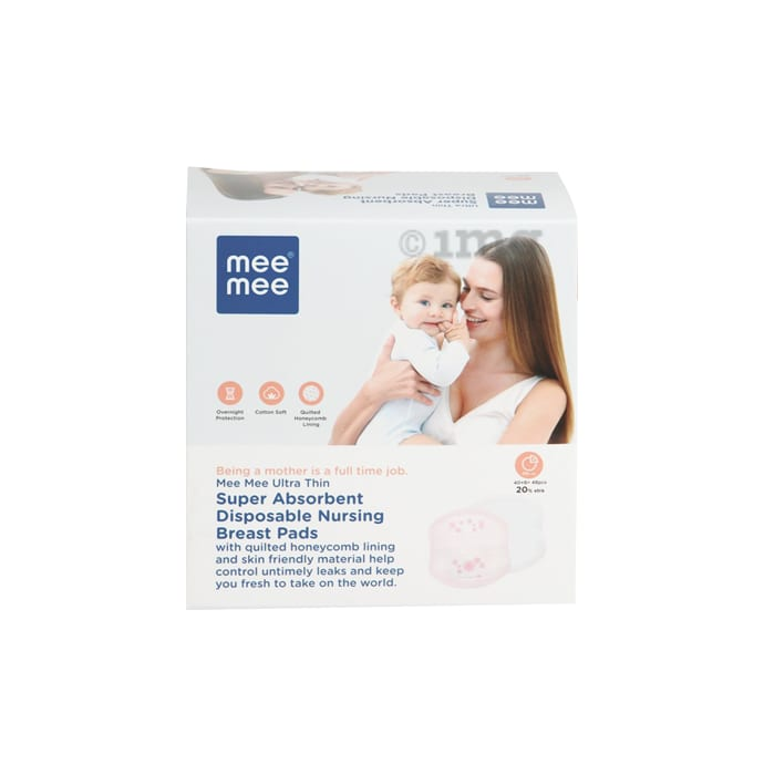 Mee Mee Ultra Thin Super Absorbent Disposable Nursing Breast Pads