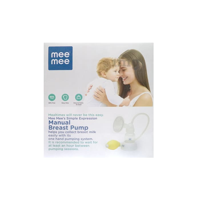Mee Mee Simple Expression Manual Breast Pump