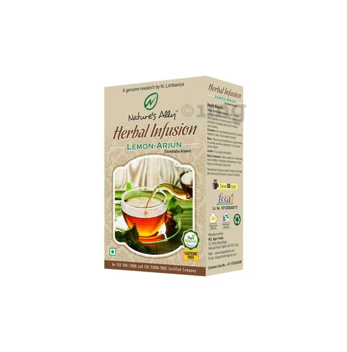 Nature's Ally Lemon-Arjun Herbal Infusion