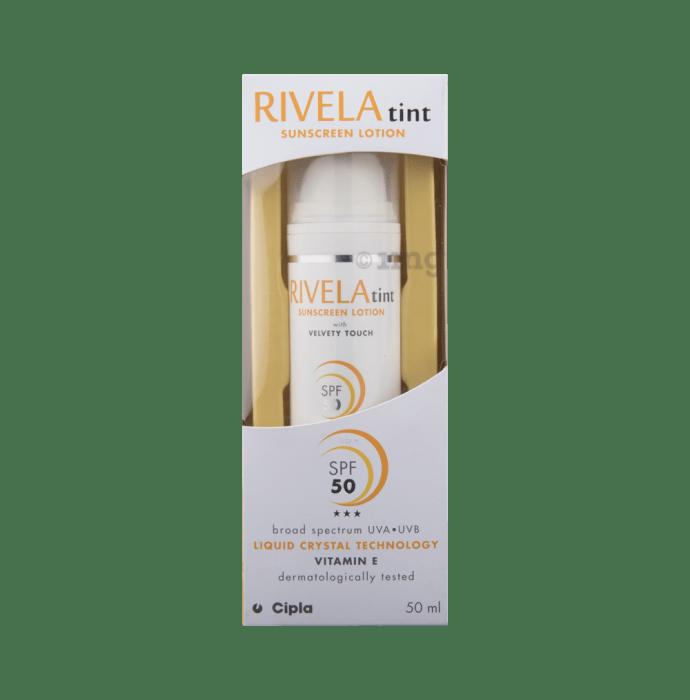 Rivela Tint Sunscreen Lotion
