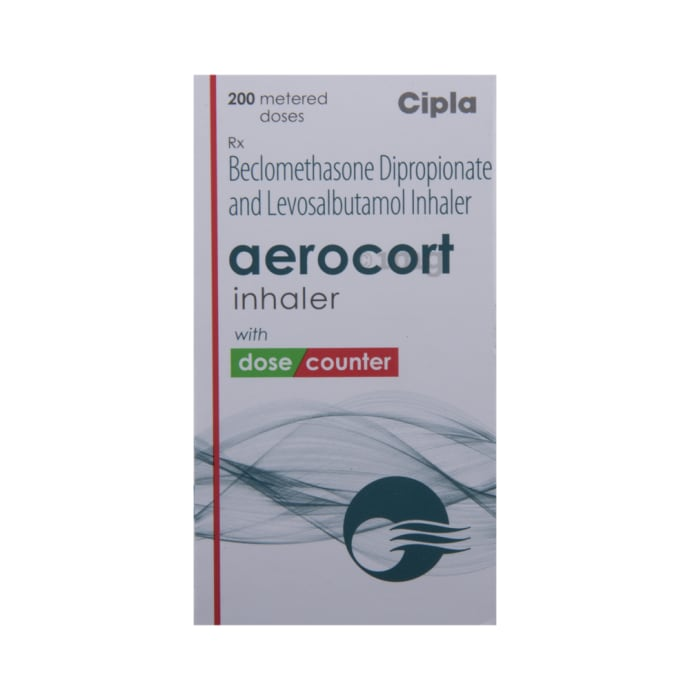 Aerocort Inhaler: View Uses, Side Effects, Price and Substitutes | 1mg