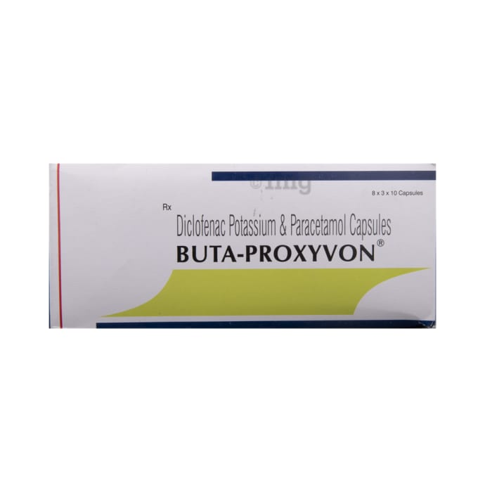 Buta Proxyvon Capsule: View Uses, Side Effects, Price and Substitutes | 1mg