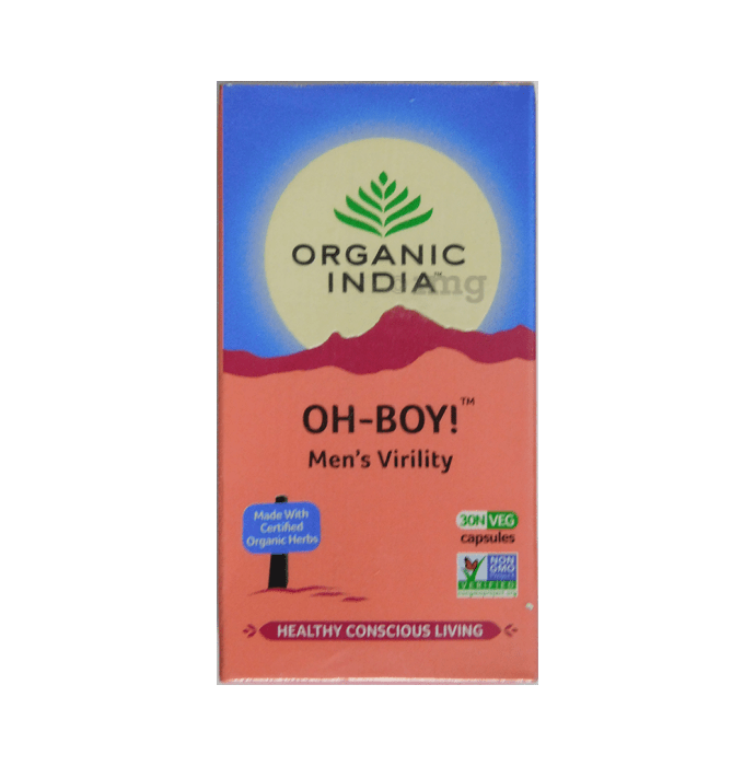 Organic India Oh-Boy Capsule