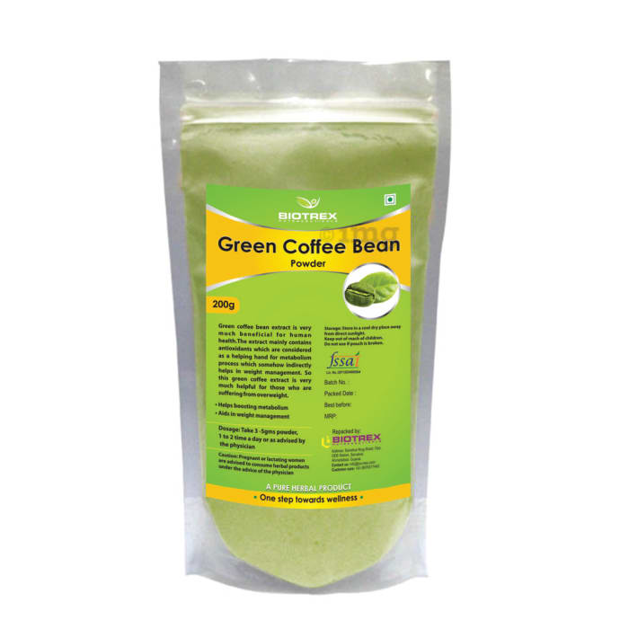 Biotrex Green Coffee Bean Herbal Powder