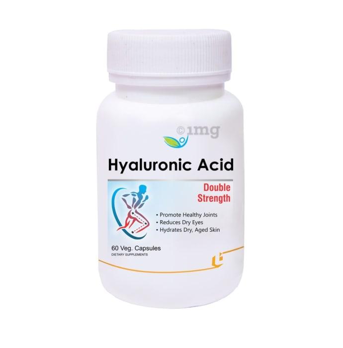 Biotrex Hyaluronic Acid Double Strength Veg Capsule