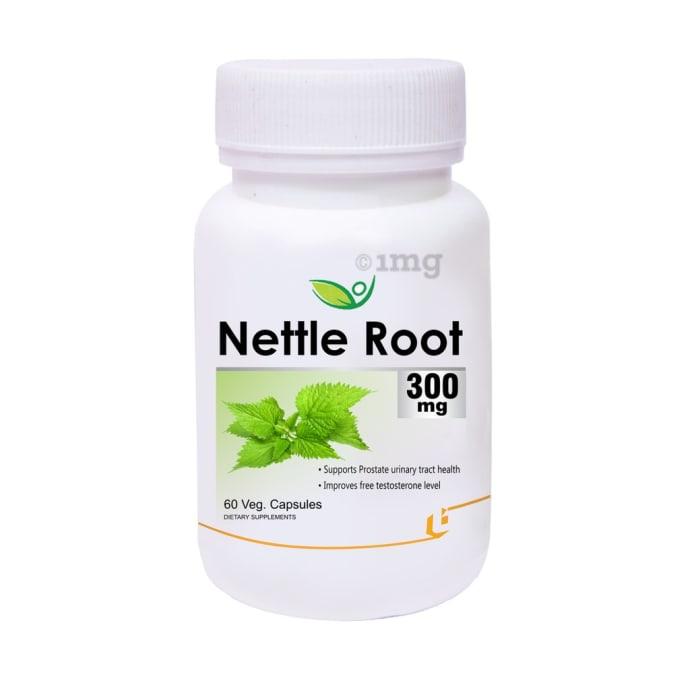 Biotrex Nettle Root Extract 300mg Veg Capsule