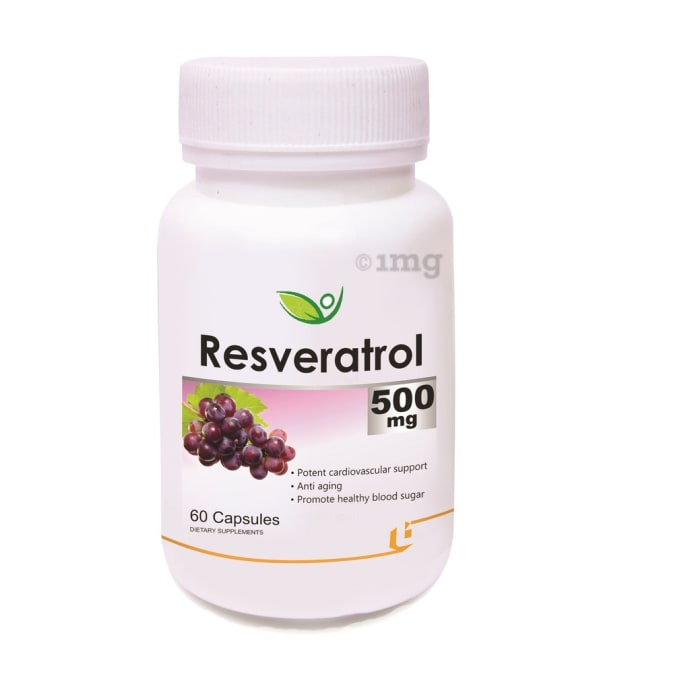 Biotrex Resveratrol 500mg Capsule