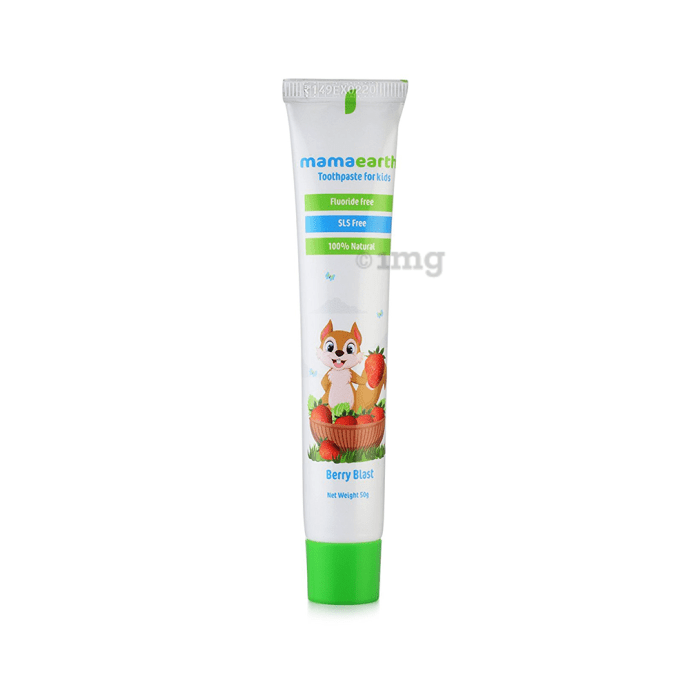 Mamaearth Toothpaste for Kids Berry Blast 0-10 Years