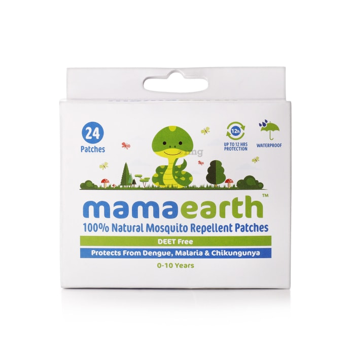 Mamaearth 100% Natural Mosquito Repellent Patch