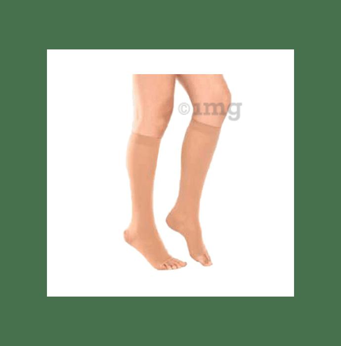 Tynor I67 Medical Compression Stocking Below Knee High Class 2 (Pair) Medium