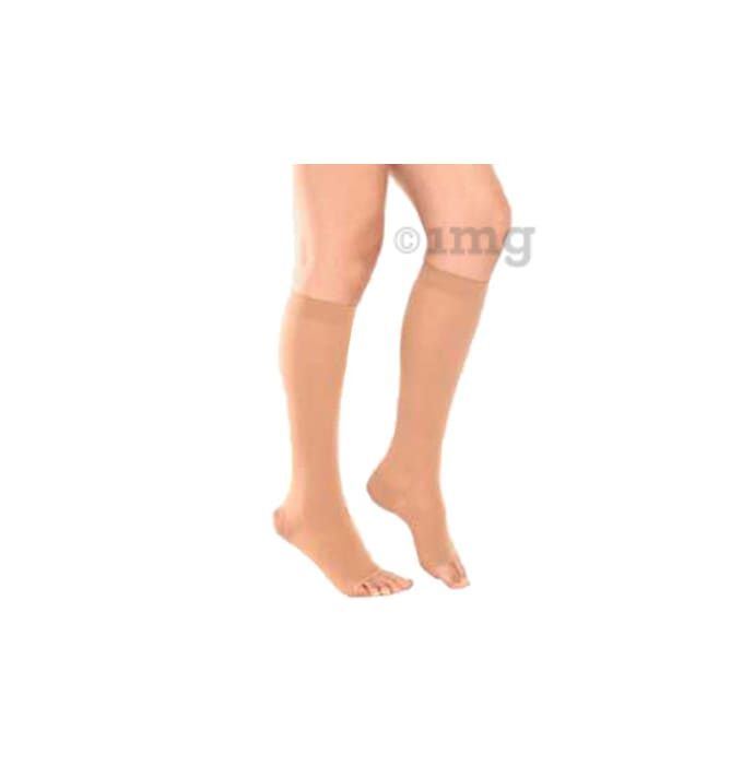 Tynor I67 Medical Compression Stocking Below Knee High Class 2 (Pair) Small