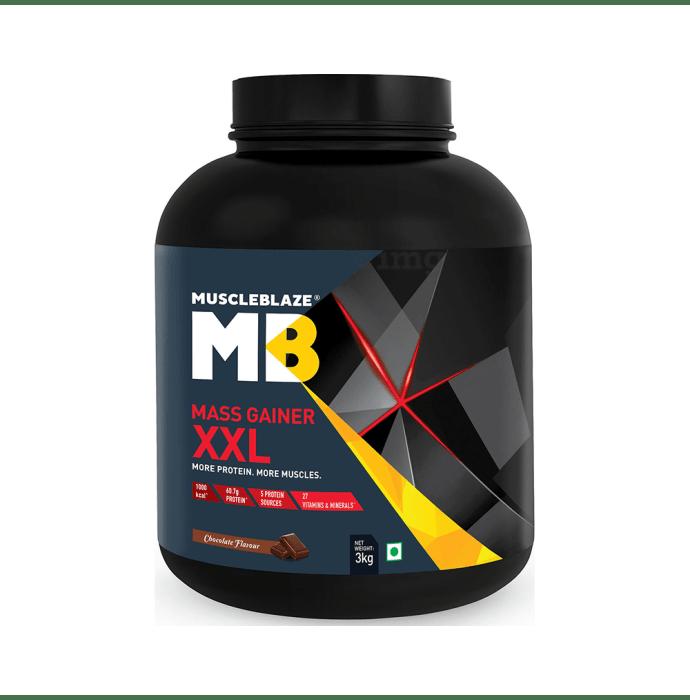 MuscleBlaze Mass Gainer XXL Chocolate
