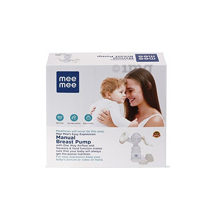 Mee Mee Easy Expression Manual Breast Pump White