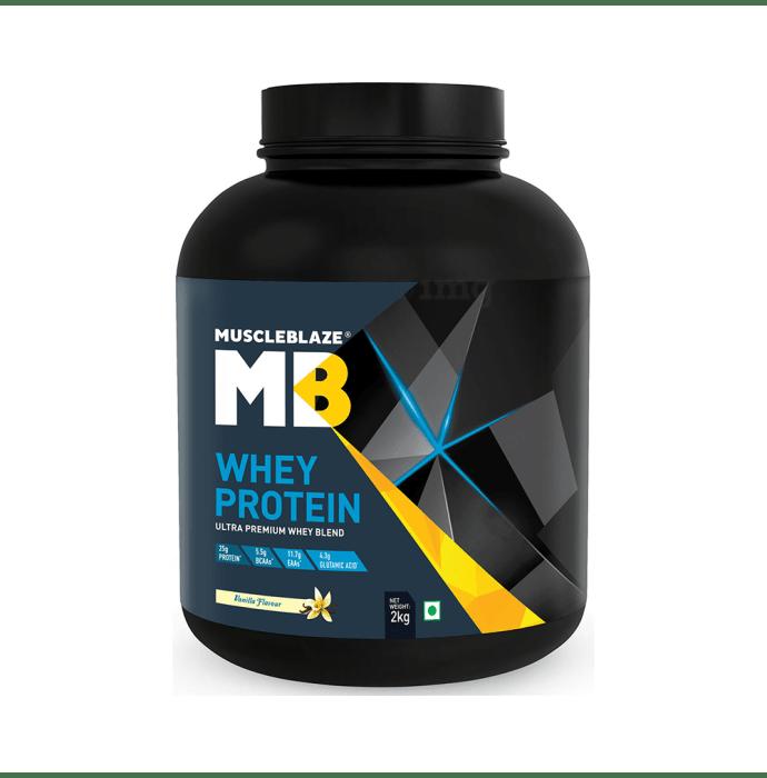 MuscleBlaze Whey Protein Vanilla