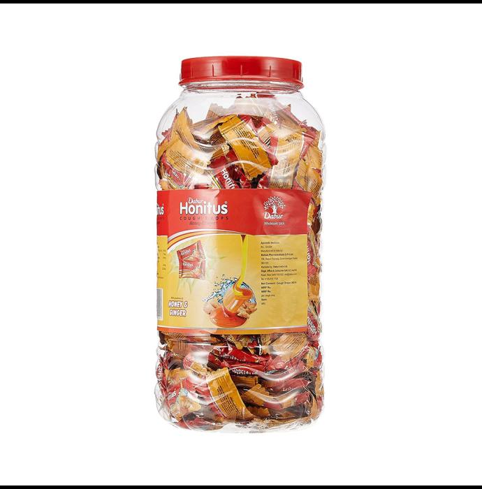 Dabur Honitus Cough Drops Lozenges Ginger Honey