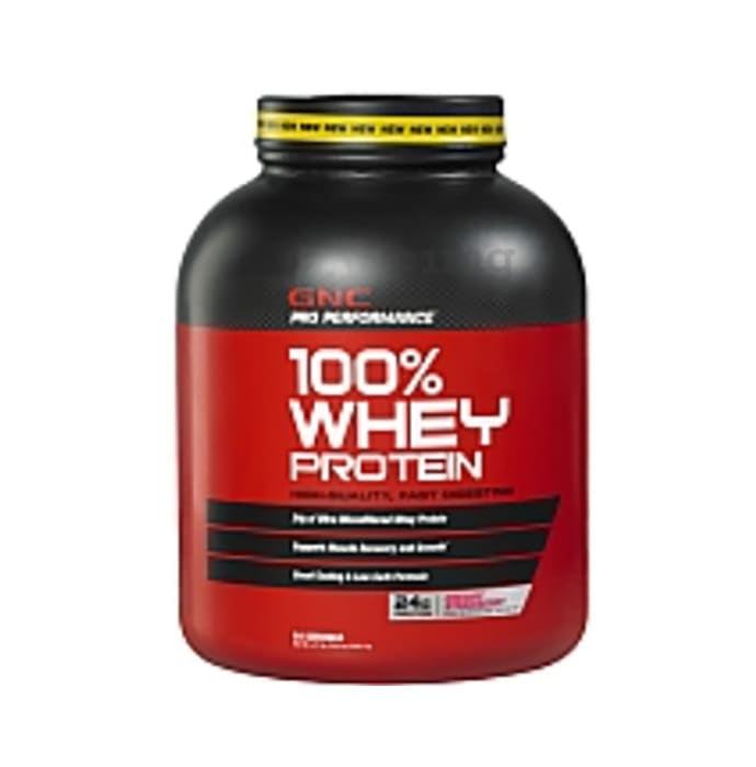 GNC Pro Performance 100% Whey Protein Powder Strawberry