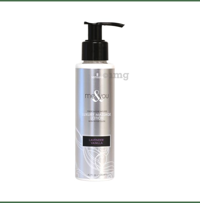 SenSuva Me & You Pheromone Infused Luxury Massage Lotion Lavender Vanilla