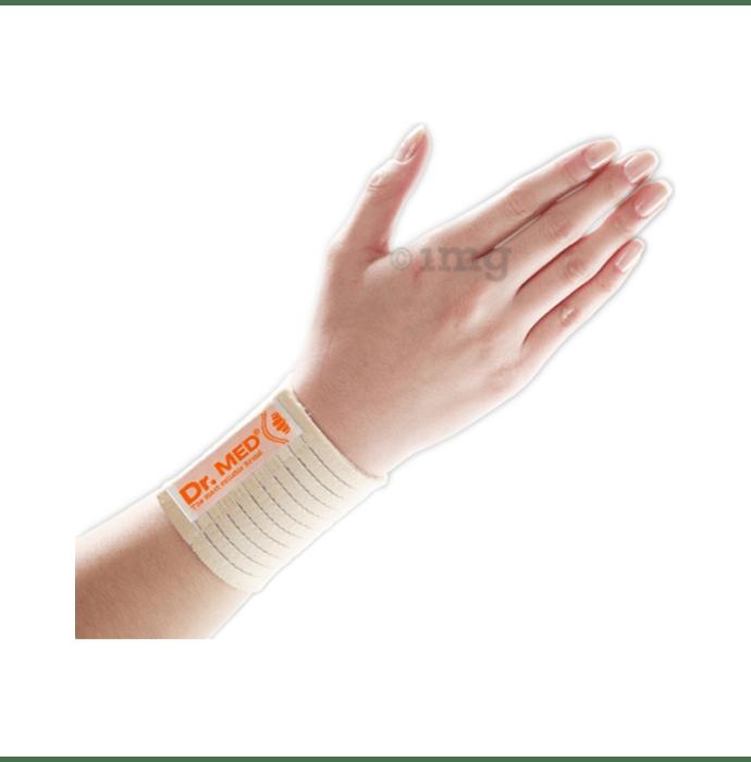 Dr MED Elastic Wrist Support DR-W011 L Beige