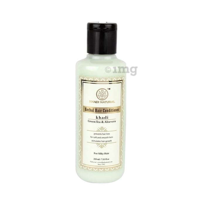 Khadi Naturals Ayurvedic Green Tea & Aloevera Hair Conditioner