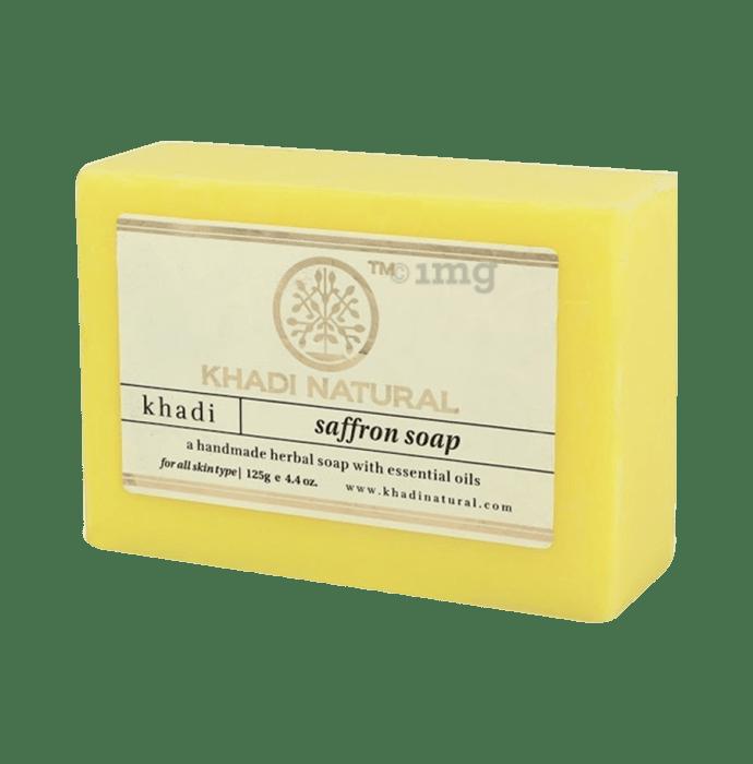 Khadi Naturals Ayurvedic Saffron Soap