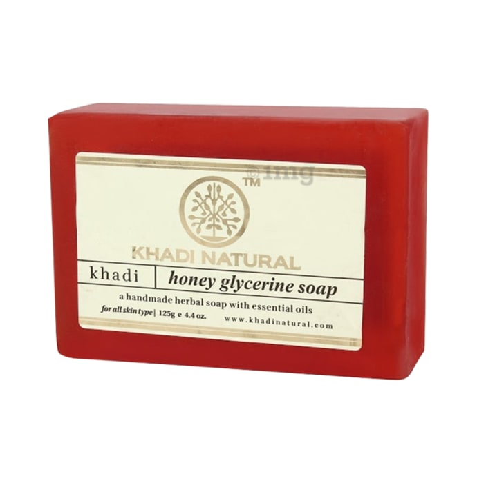 Khadi Naturals Ayurvedic Honey Glycerine Soap