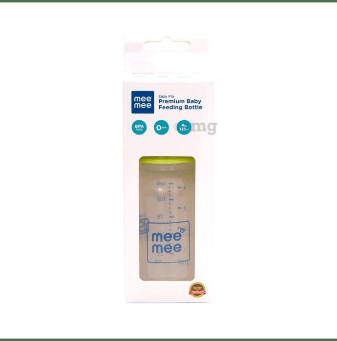 Mee Mee Eazy Flo Premium Baby Feeding Bottle Green