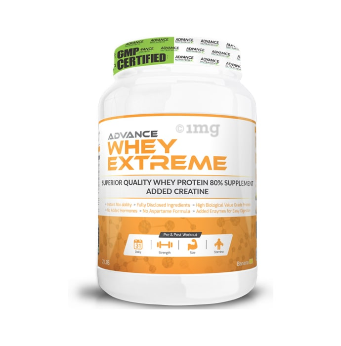 Advance Nutratech Whey Extreme Protein Powder Banana
