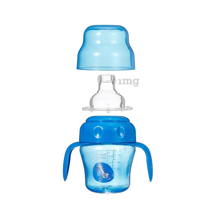 Mee Mee 2 IN 1 Spout and Straw Sipper Cup Blue
