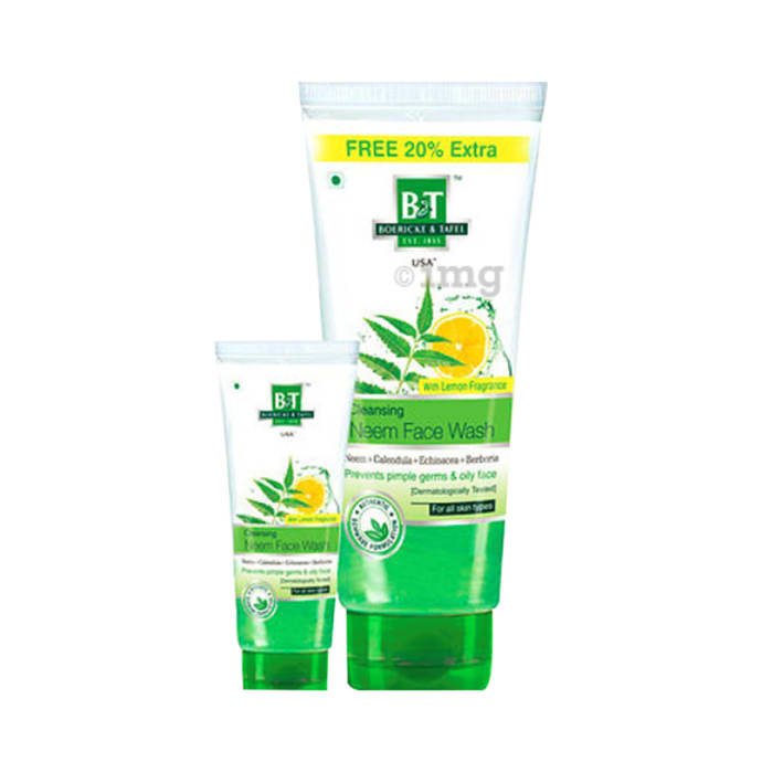 Boericke and Tafel Cleansing Neem Face Wash