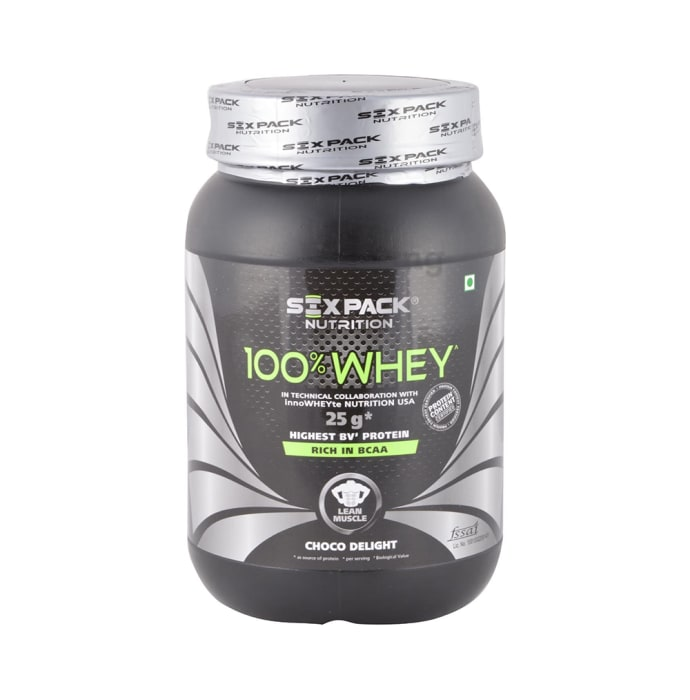 Sixpack Nutrition 100% Whey Protein Powder Choco Delight