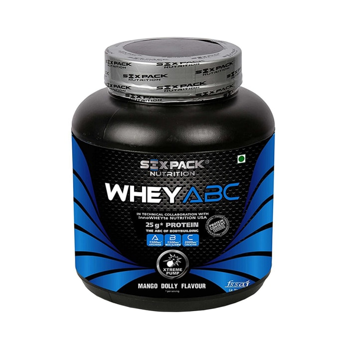 Sixpack Nutrition Whey ABC Protein Powder Mango Dolly