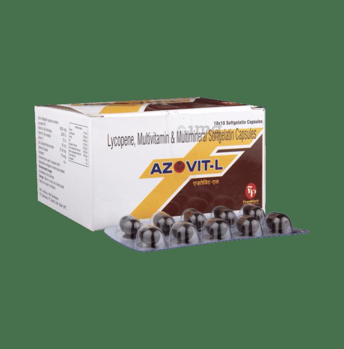 Azovit-L Soft Gelatin Capsule