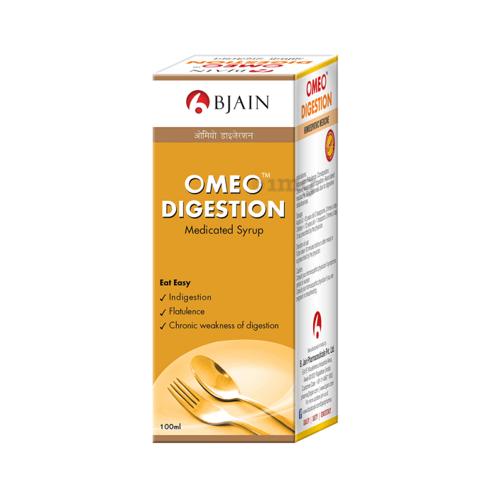 Bjain Omeo Digestion Medicated Syrup