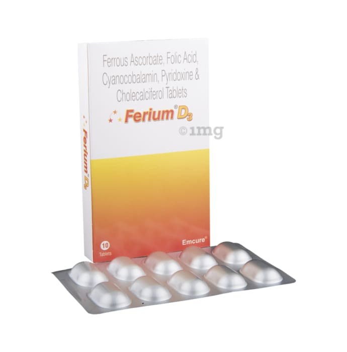 Ferium D3 Tablet