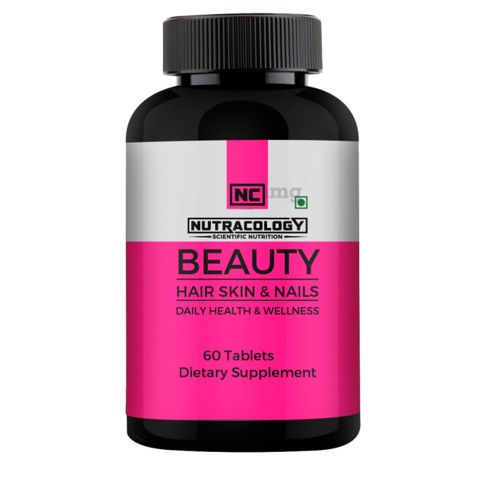 Nutracology Beauty Hair, Skin & Nails Tablet